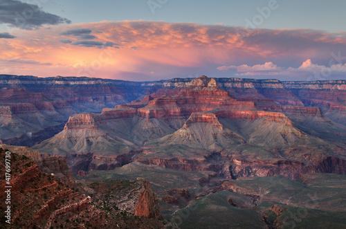 Canvas Print USA, Arizona. Grand Canyon National Park.