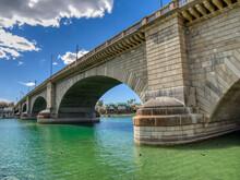 USA, Arizona, Lake Havasu City. London Bridge.