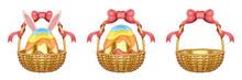 3d Easter Egg Basket Collection