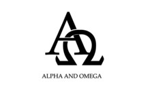 Alpha And Omega, Christian Quote For Print Or Use As Poster, Card, Flyer Or T Shirt