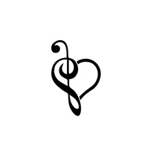 Music Note Svg, Vector