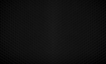Black Hexagonal Blurred Background, Not Focused