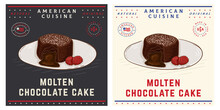 Molten Chocolate Cake Or Fondant