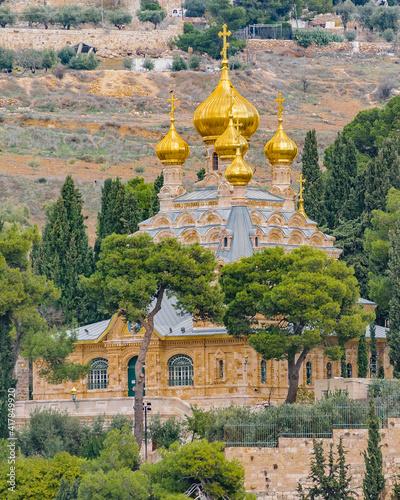 Fotografia Mary Magdalene Church, Jerusalem