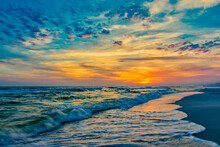 """""Okaloosa Island Sunset"""