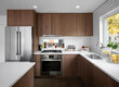 modern kitchen interior in a recently remodeled house