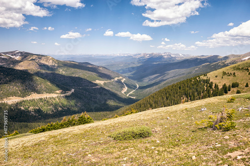 Landscape in the James Peak Wilderness, Colorado