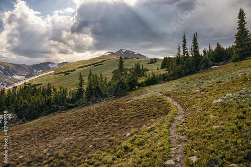 Evening Landscape in the James Peak Wilderness, Colorado