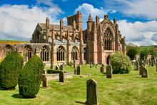 Melrose Abbey Scotland Border Region