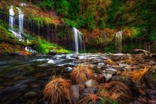 Majestic Mossbrae Falls, Dunsmuir, California