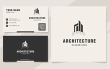 Modern Architecture Abstract Logo Template