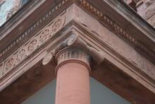 Close Up Of Ionic Column