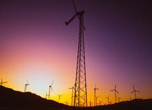 Windmills, Coachella Valley, California