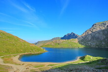 Snowdonia National Park In The Summer Sun