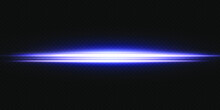 White Horizontal Lens Flares Pack. Laser Beams, Horizontal Light Rays. Beautiful Light Flares. Glowing Streaks On Light Background. Luminous Abstract Sparkling Lined Background.