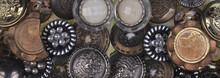 Set Of Vintage Decorative Buttons
