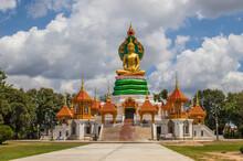 Thai Temple In Ubon Ratchathani Thailand