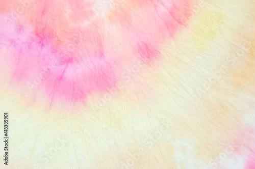 Obraz Summer Pattern. Watercolor Background. Bright Summer Pattern. Bright Colors Dyed Fabric. Trendy Abstract Illustration. Grunge Fashion Dirty Painting. Beautiful Aquarelle Kaleidoscope. - fototapety do salonu