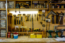 Craftsman's Tools And Workshop