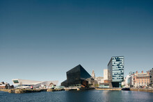 Museum Of Liverpool, Three Graces, Royal Albert Dock, Mann Island, Liverpool, UK