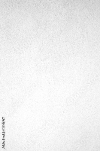 Obraz Vertical white concrete stone surface paint wall background, White rough concrete stone wall background, Copy space for interior design background, banner, wallpaper - fototapety do salonu