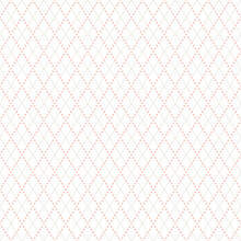Simple Argyle Seamless Pattern Background. Vector Illustration. Diamond Shapes With Dashed Lines.