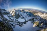 Fototapeta Kamienie - Dolina Gąsienicowa z Koziego Wierchu
