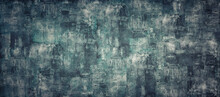 Empty Dark Like Oil Color Concrete Texture Background Panorama Banner Long
