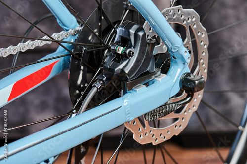 Mechanical parts of bicycle © PixieMe