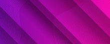 Shades Of Purple Abstract Polygonal Geometric Background. 3d Business Background Concept