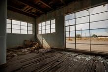 Abandoned Buildings In The Mojave Desert