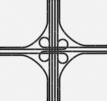 Roads And Highways Vector Illustrations