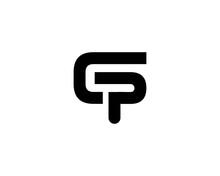 PC CP Letter Logo Design Vector Template