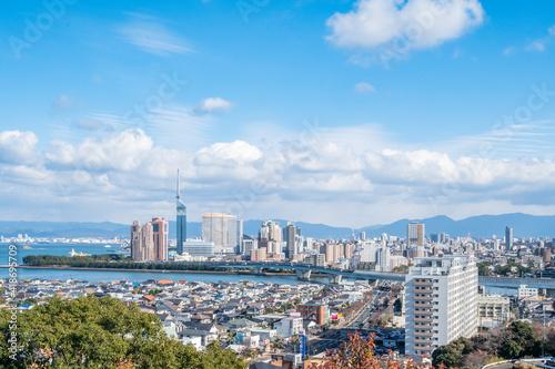 Fotografia 福岡市の街並み