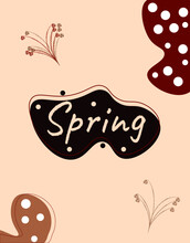 A Selection Of Covers In Different Colors On The Theme Of Spring