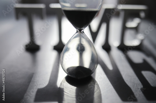 Tablou Canvas The concept of the passage of time
