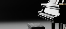 Classic Grand Piano Keyboard