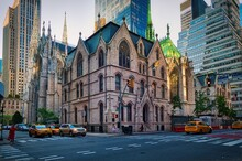 The Cathedral Of St. Patrick Is A Neo-Gothic-style Roman Catholic Cathedral Church And A Prominent Landmark Of New York City
