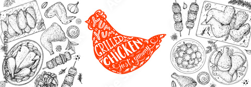 Valokuva Chicken dinner