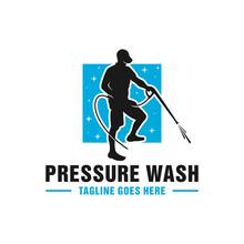 High Pressure Washing Pipe Logo