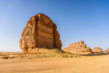 Hegra, Also Known As Mada�in Salih, Or Al-?ijr, Archaeological Site, Nabatean Carved Rock Cave Tombs