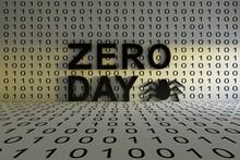 ZERO DAY Concept Text Sunlight 3D Illustration