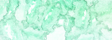 Deep Green Vibrant Color Abstract Blotch Water Color Grunge Banner Background Wallpaper In High Resolution