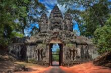 Angkor Thom Gate, Siem Reap, Cambodia