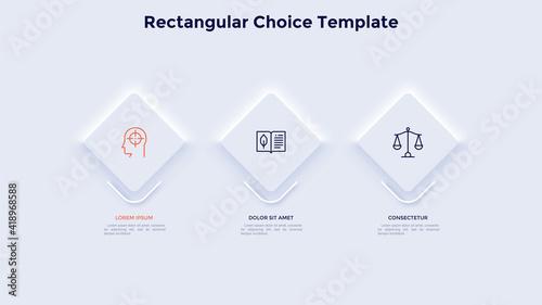 Slika na platnu Modern Infographic Vector Template