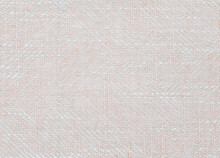 Full Frame Background Showing Woven Fabric In White And Pale Pink