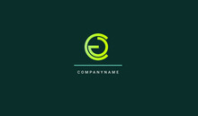 Letter Initial Cg Logo Design Inspiration