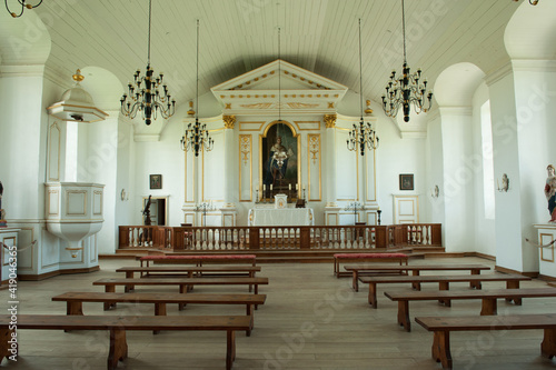 Cuadros en Lienzo The Military chapel at the Fortress of Louisbourg