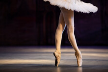 Ballerina Legs Closeup