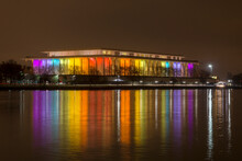 John F. Kennedy Center For The Performing Arts Across Potomac River